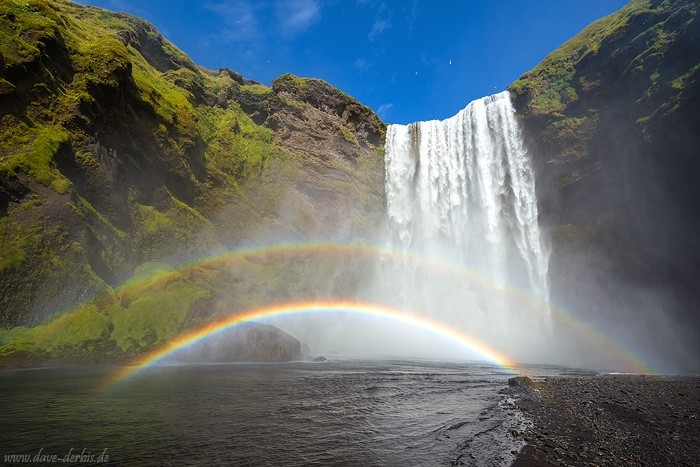 Regenbogen mit Polfilter