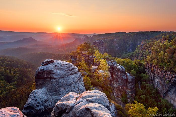 Sonnenaufgang Heringstein