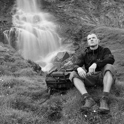 Dave Derbis - Selbstportrait im Hohe Tauern Nationalpark