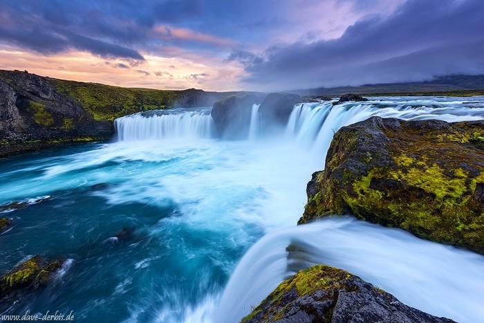 Wasserfall der Götter - Island