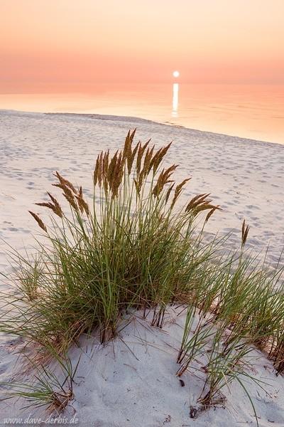 Sonnenuntergang Ostsee - Beispiel schnelle Belichtungszeit