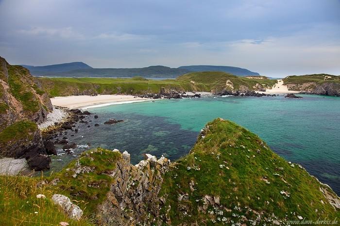 Pagageientaucher Bucht Schottland
