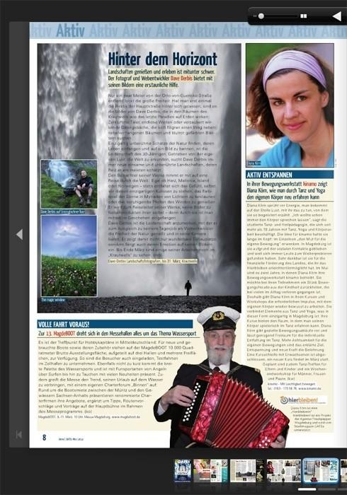 Magazin DATEs Magdeburg - Hinter dem Horizont Artikel