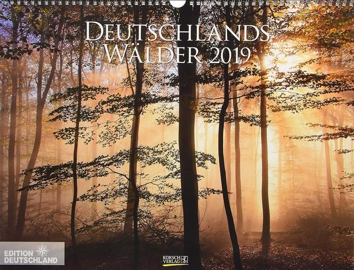 Deutschlands Wälder 2019 - Kalender Cover