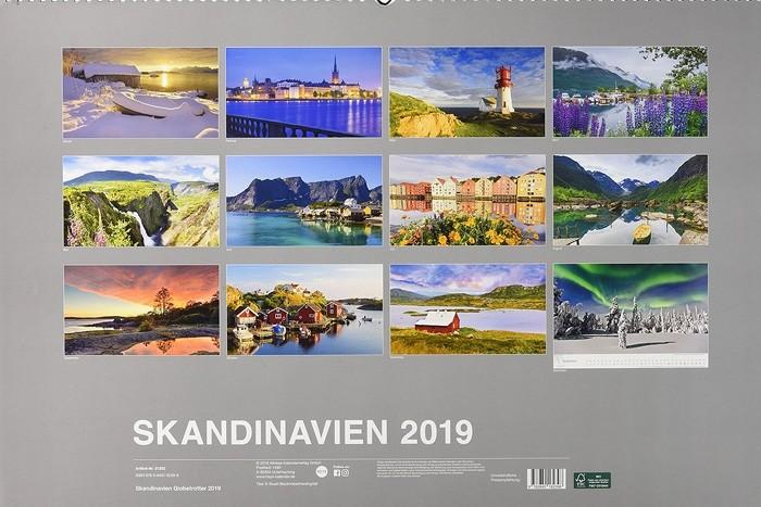Skandinavien 2019 - Kalender März