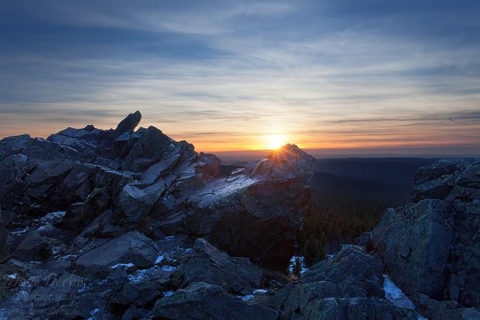 Gipfel der Wolfswarte