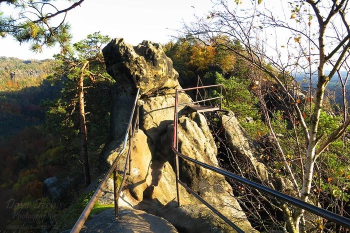 Schrammsteine Wandern - Auf dem Schrammsteingrat