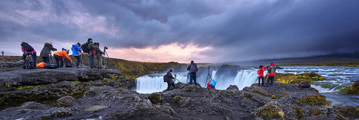 Gruppen Fototour Island