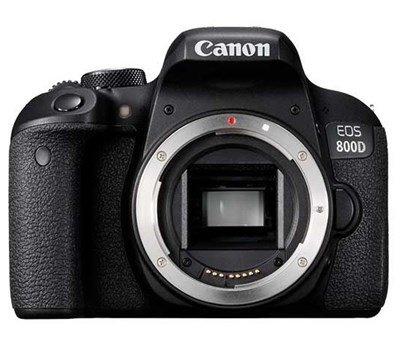 Einsteiger Platz 1: Canon 800D