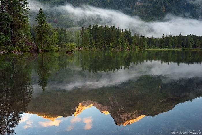 Bildkomposition - Reflektionen im See