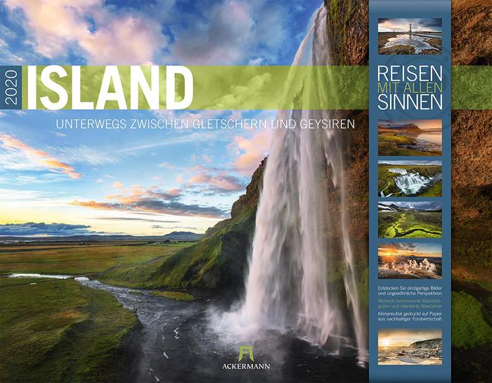 Island 2020 - zwischen Gletschern und Geysiren - Kalender Cover