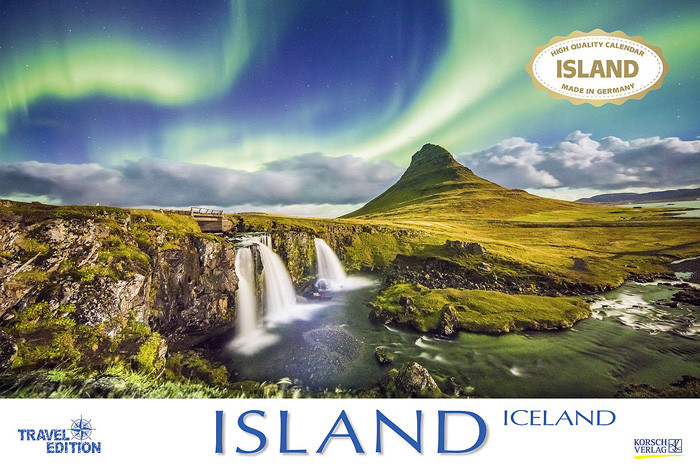 Island 2020 - Travel Edition - Kalender Cover