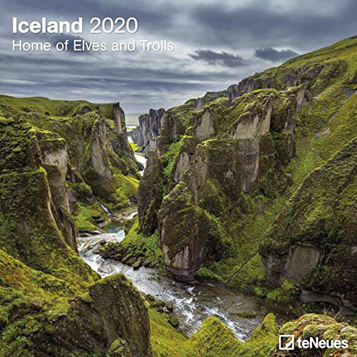 Iceland - Home of Elves and Trolls 2020 - Kalender Cover