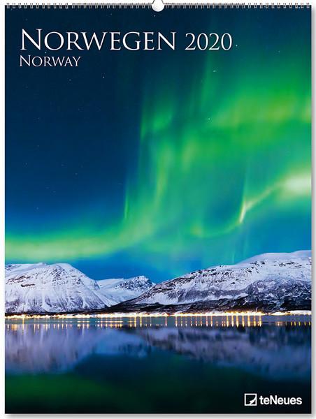Norwegen 2020 Kalender Cover