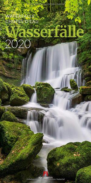 Wasserfälle 2020 Kalender Cover