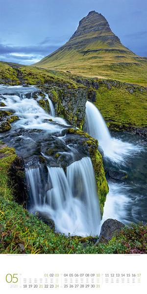 Wasserfälle 2020 Kalender September