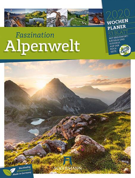 Faszination Alpenwelt 2020 - Wandkalender