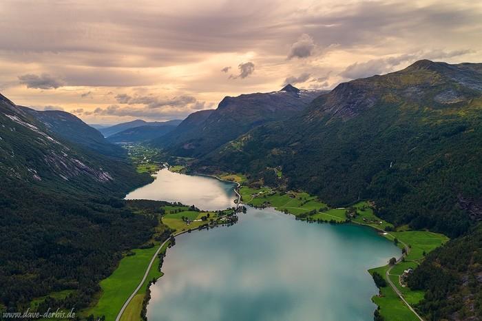 Oppstrynsvatnet bei Stryn in Norwegen