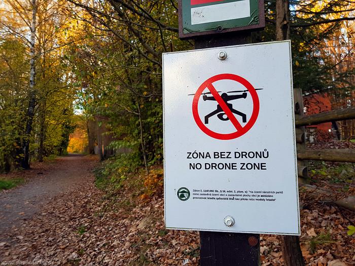 Drohnen Verbotsschild