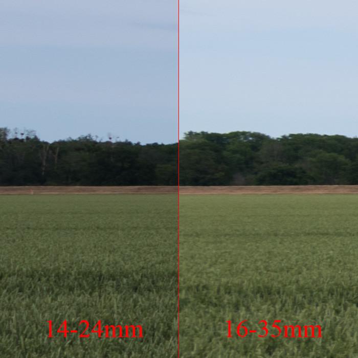 Objektiv Vergleich Motiv 1 - Mitte links