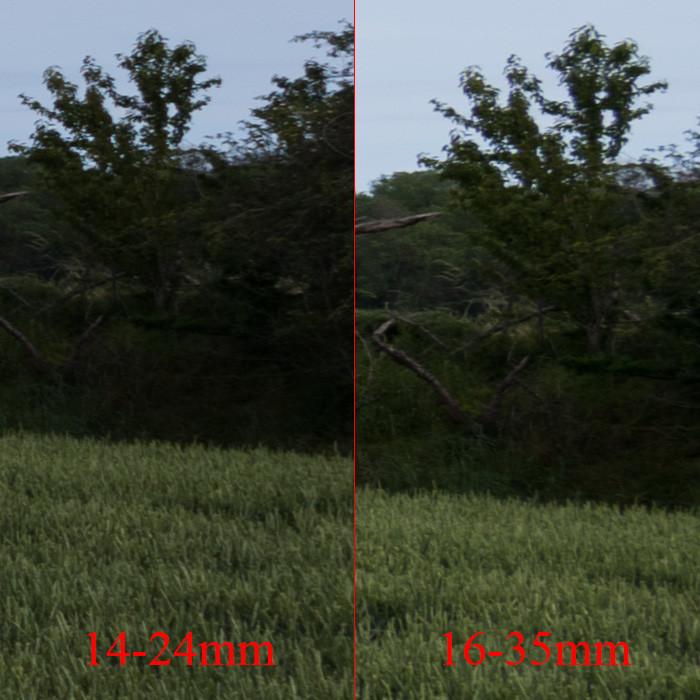 Objektiv Vergleich Motiv 1 - Mitte rechts