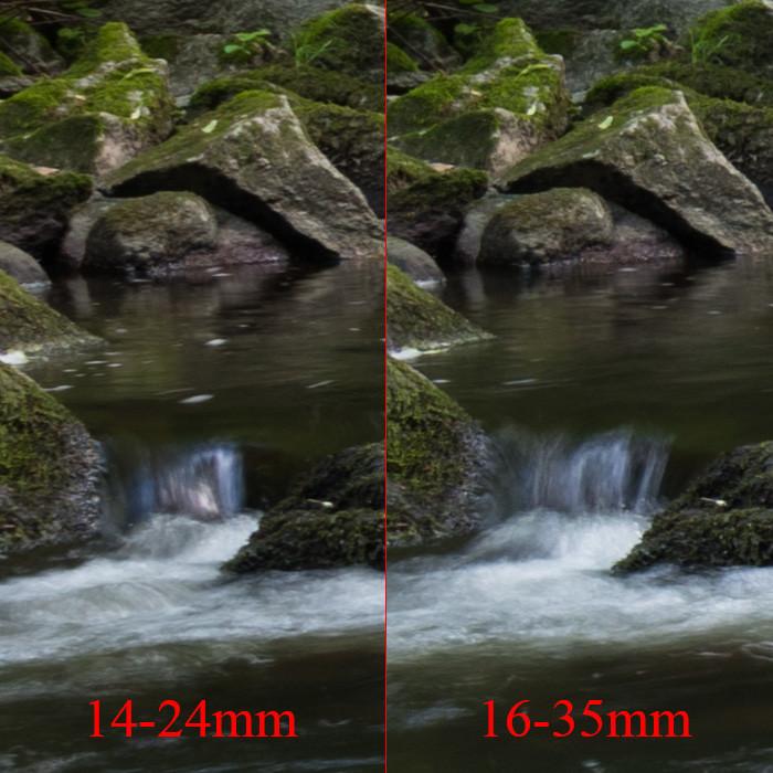 Objektiv Vergleich Motiv 2 - Mitte links