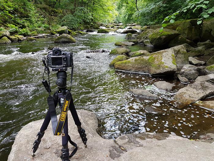 Kamera der D800er Reihe im Einsatz