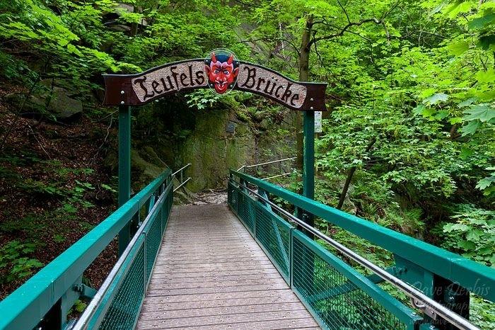 Teufelsbrücke im Harz
