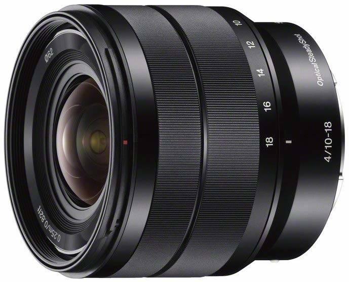 Sony FE 10-18 mm F4 OSS