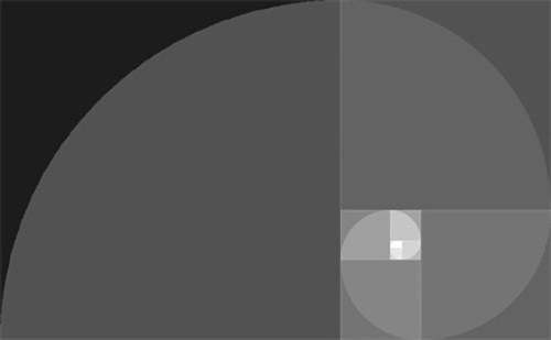 Abbildung der Goldene Spirale