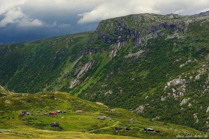 Bergsdalen in Norwegen