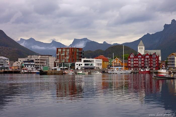 Svolvaer - Hauptstadt der Lofoten Inseln