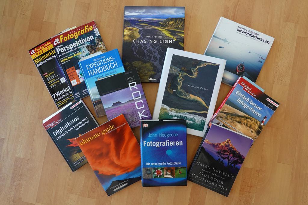 Fotografie Bücher