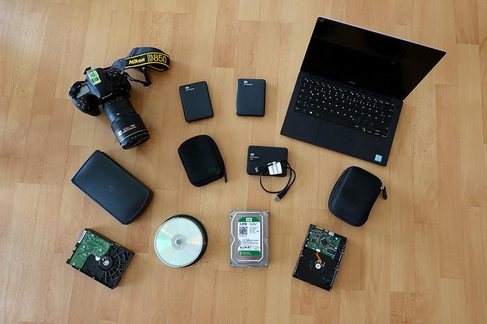 USB Festplatte für Datensicherheit und Foto Backups