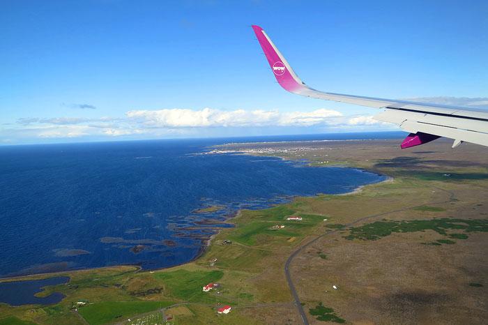 Anreise Island