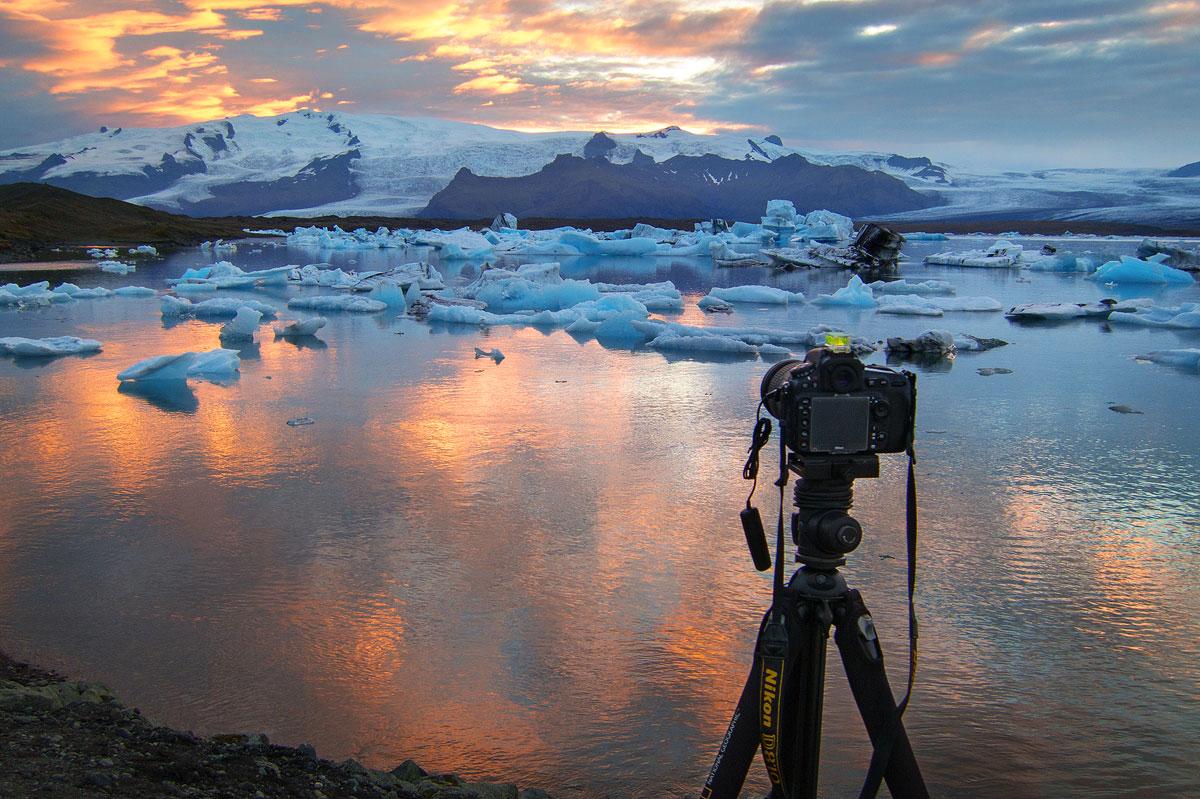 Fotografieren in Island Cover