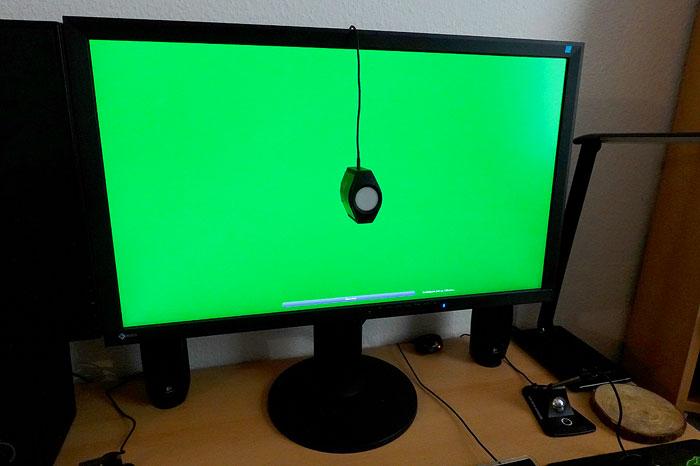 Monitor kalibrieren mit Kolorimeter