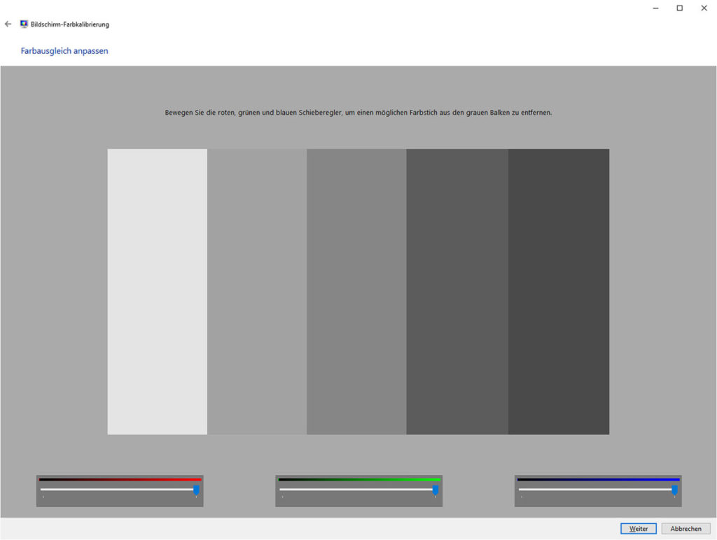 Monitor kalibrieren Windows dccw