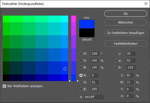 RGB Farbwerte