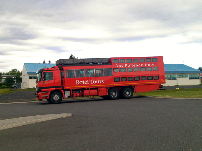 Rotel Tours in Island
