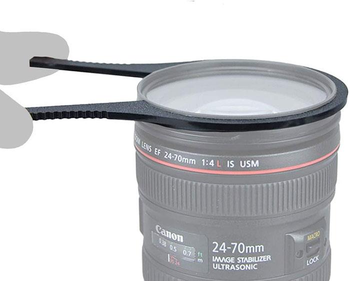 Polfilter Filterzange