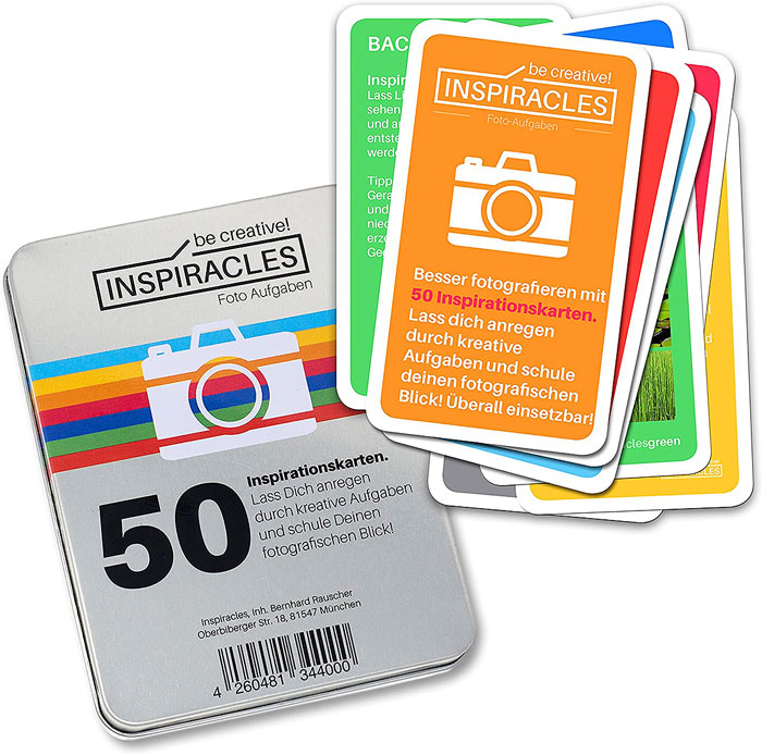 Aufgabenkarten Fotografie