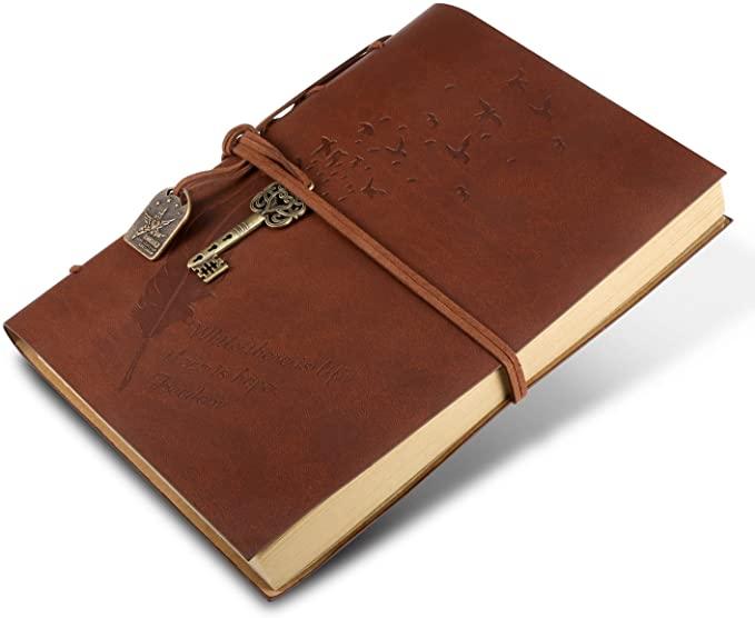 Leder Notizbuch für Kreative