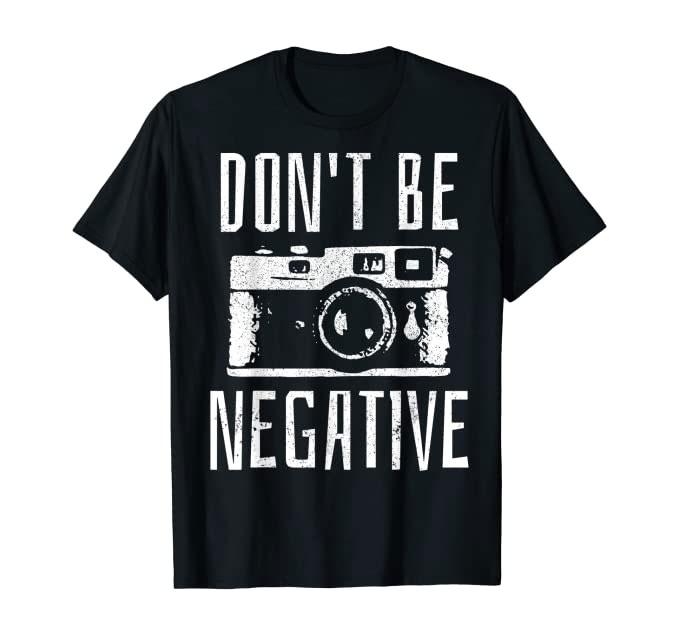 T-Shirt für Fotografen