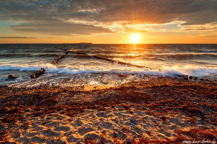 Sonnenuntergang Ostsee Rügen