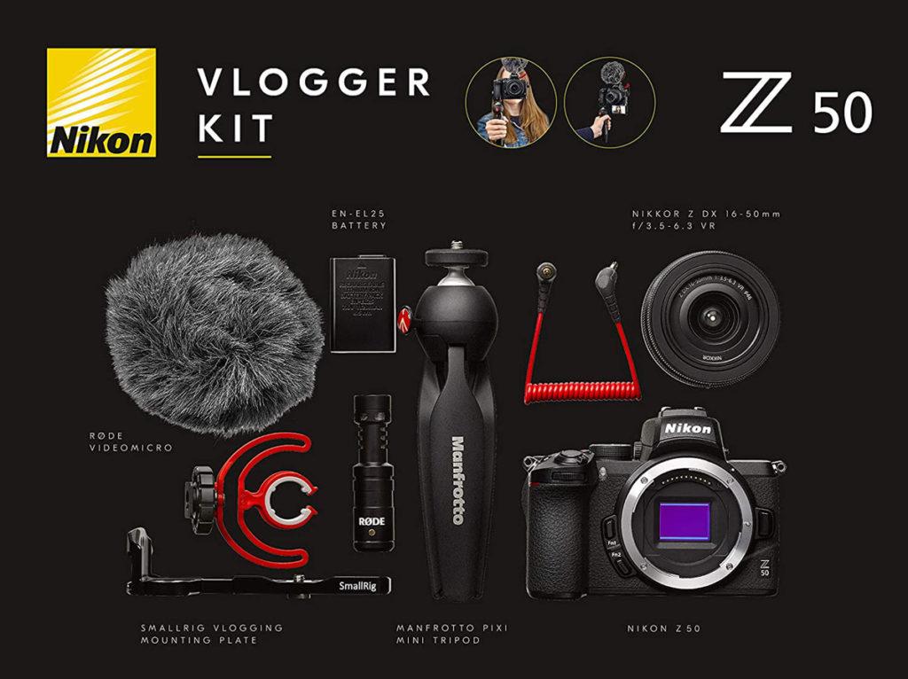 Systemkamera Vlogging Kit