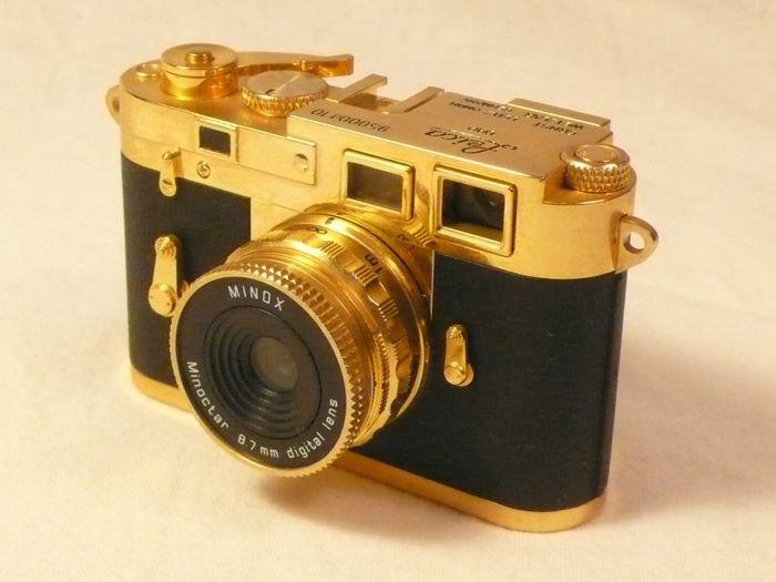 Die teuersten Kameras - Minox Leica M3 Gold Edition