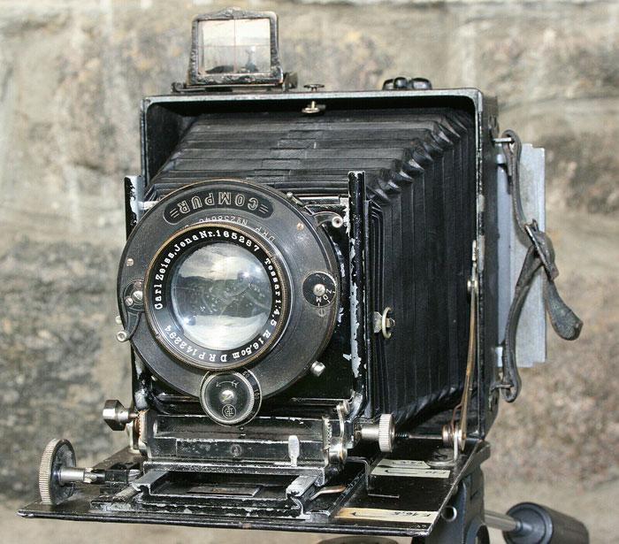 Linhof Präzisions Kamera von 1911 - eine der teuersten Kameras