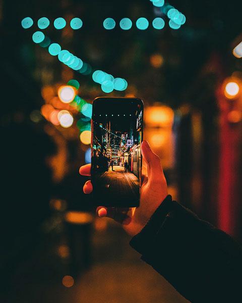 Fotografieren mit dem Handy